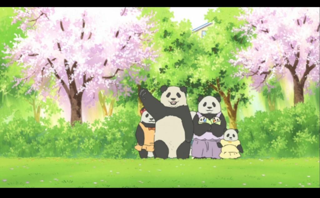 A family of Pandas
